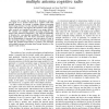 Performance Analysis of Primary User Detection in a Multiple Antenna Cognitive Radio