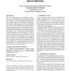 Performance aware tasking for environmentally powered sensor networks
