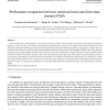 Performance comparison between statistical-based and direct data domain STAPs