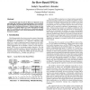 Performance-Driven Simultaneous Place and Route for Row-Based FPGAs