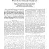 Performance Evaluation of IEEE 802.11-based WLANs in Vehicular Scenarios