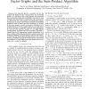 Performance Evaluation of Loss Networks via Factor Graphs and the Sum-Product Algorithm