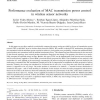 Performance evaluation of MAC transmission power control in wireless sensor networks