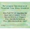 Performance Optimization of Throttled Time-Warp Simulation
