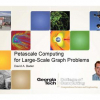 Petascale Computing for Large-Scale Graph Problems