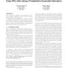 pFOIL-DL: learning (fuzzy) EL concept descriptions from crisp OWL data using a probabilistic ensemble estimation