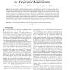 Photometric Stereo via Expectation Maximization