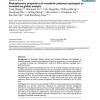 Phylophenetic properties of metabolic pathway topologies as revealed by global analysis