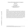 Pivotal and Pivotal-discriminative Consequence Relations