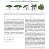 Plastic trees: interactive self-adapting botanical tree models