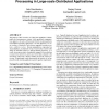 Platform Overlays: enabling in-network stream processing in large-scale distributed applications