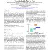 Plug-and-play application platform: towards mobile peer-to-peer