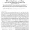 Polarimetric Image Segmentation via Maximum-Likelihood Approximation and Efficient Multiphase Level-Sets