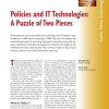 Policies and IT Technologies: A Puzzle of Two Pieces