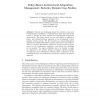 Policy-Based Architectural Adaptation Management: Robotics Domain Case Studies