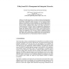 Policy Based SLA Management in Enterprise Networks
