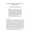 Political Engagement Through Tools for Argumentation
