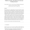 Pollution attacks and defenses for Internet caching systems