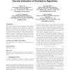 Population sizing for entropy-based model building in discrete estimation of distribution algorithms