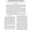 Portable Desktop Applications Based on P2P Transportation and Virtualization