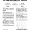 Poster: Maxima Estimation in Spatial Fields by Distributed Local Polynomial Regression