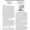 Power deregulation: eliminating off-chip voltage regulation circuitry from embedded systems