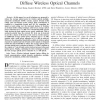 Power reduction techniques for multiple-subcarrier modulated diffuse wireless optical channels