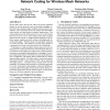 Practical defenses against pollution attacks in intra-flow network coding for wireless mesh networks
