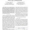 Precoded Spatial Multiplexing MIMO for Inhome Power Line Communications