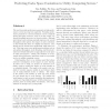 Predicting Cache Space Contention in Utility Computing Servers