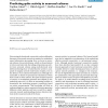 Predicting Spike Activity in Neuronal Cultures