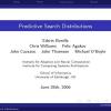 Predictive search distributions