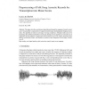 Preprocessing of Folk Song Acoustic Records for Transcription into Music Scores