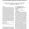 Privacy-aware regression modeling of participatory sensing data