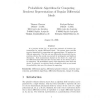 Probabilistic algorithms for computing resolvent representations of regular differential ideals