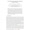 Probabilistic Approximations of Signaling Pathway Dynamics