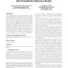 Probabilistic environments in the quantitative analysis of (non-probabilistic) behaviour models
