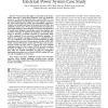 Probabilistic Model-Based Diagnosis: An Electrical Power System Case Study