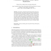 Probabilistic Modeling of Mobile Agents' Trajectories