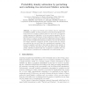 Probability Density Estimation by Perturbing and Combining Tree Structured Markov Networks