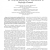 Probability Density Functions of Reliability Metrics for 16-QAM-Based BICM Transmission in Rayleigh Channel