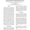 Problem Solving Environment Approach to Integrating Diverse Biological Data Sources
