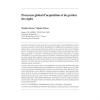 Processus global d'acquisition et de gestion des sigles