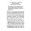 Program Specialization via Program Slicing