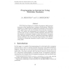 Programming an interpreter using molecular dynamics