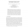 Programming Autonomic Systems with Multiple Constraint Stores
