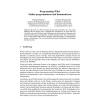 Programming-Wiki: Online programmieren und kommentieren