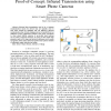 Proof-of-Concept: Infrared Transmission Using Smart Phone Cameras