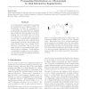 Propagating distributions on a hypergraph by dual information regularization