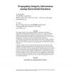 Propagating Integrity Information among Interrelated Databases